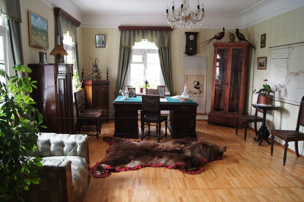 Кабинет Николая Пржевальского