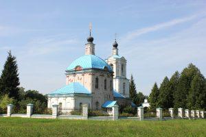 церковь Новоспасское