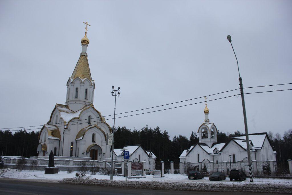 Комплекс зданий храма Воскресения Христова в Катыни