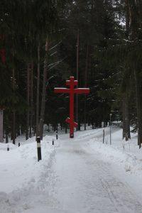На российской части мемориала в Катыни