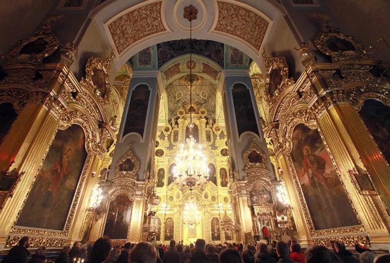 Интерьер Успенского собора Смоленска