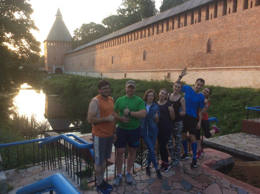 #бегизакрепость - Смоленская крепостная стена, пробежка №4, беги за крепость.