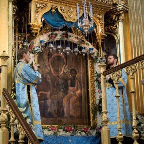 На празднике в честь иконы Смоленской Божией Матери «Одигитрия»