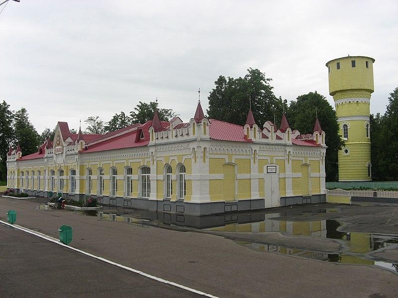 Ельня, Вокзал