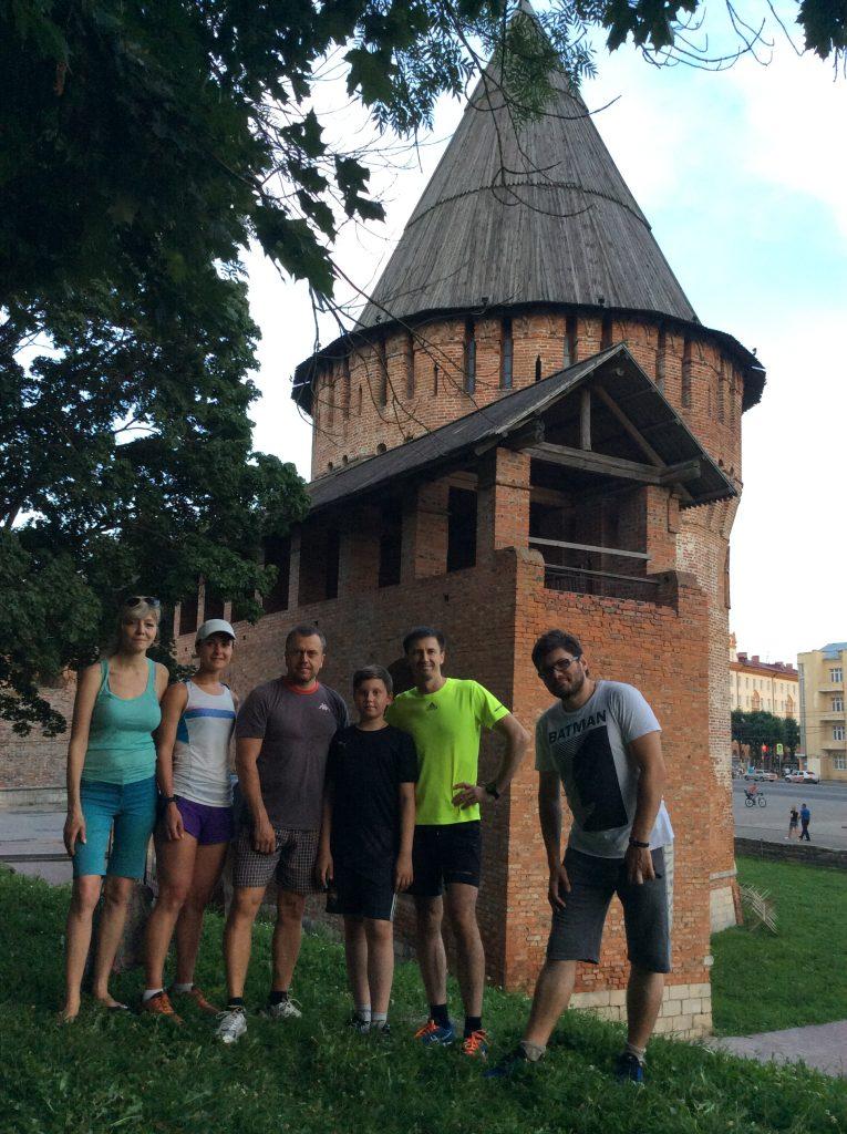 Экскурсии по Смоленску всегда веселее на бегу