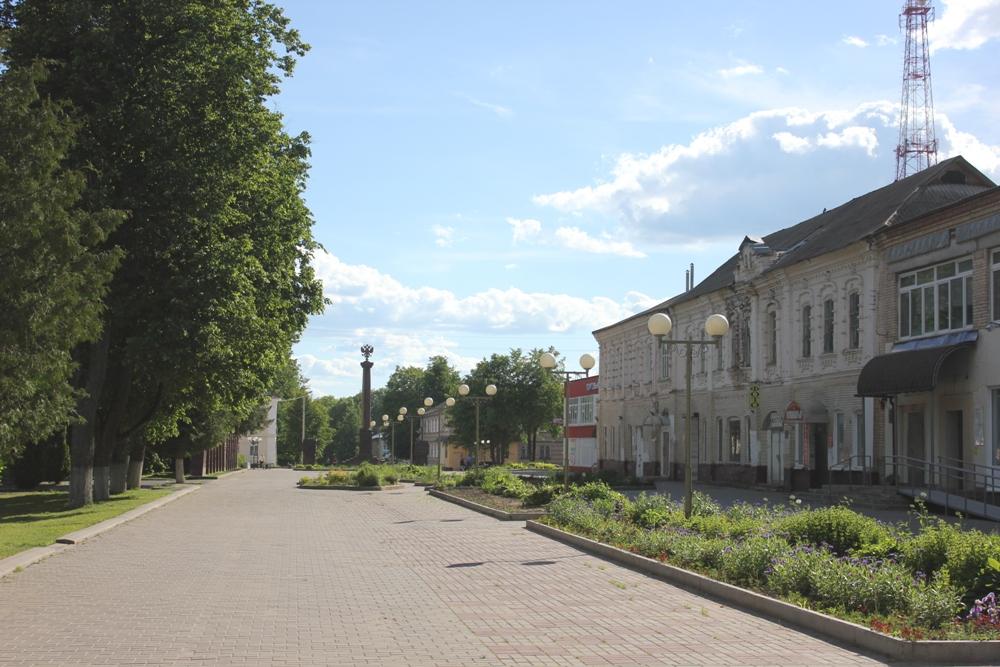 Ельня, центр
