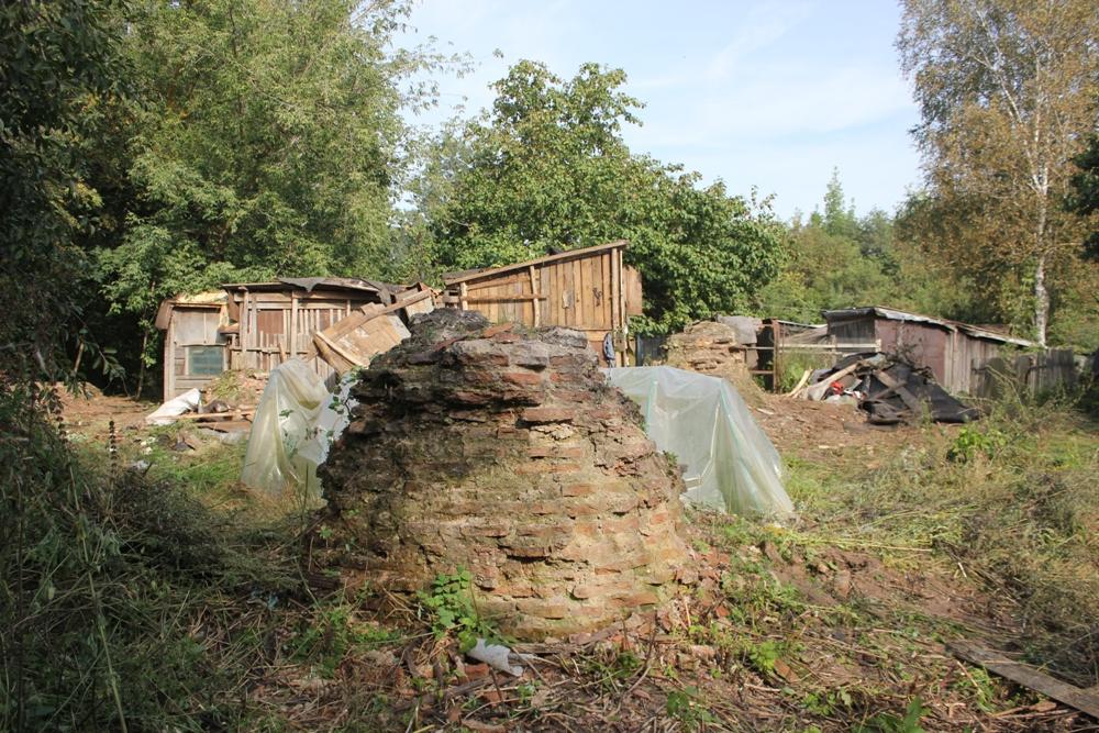 Собор на Протоке в процессе расчистки, сентябрь 2018 года / Фото: smolensk-guide.com