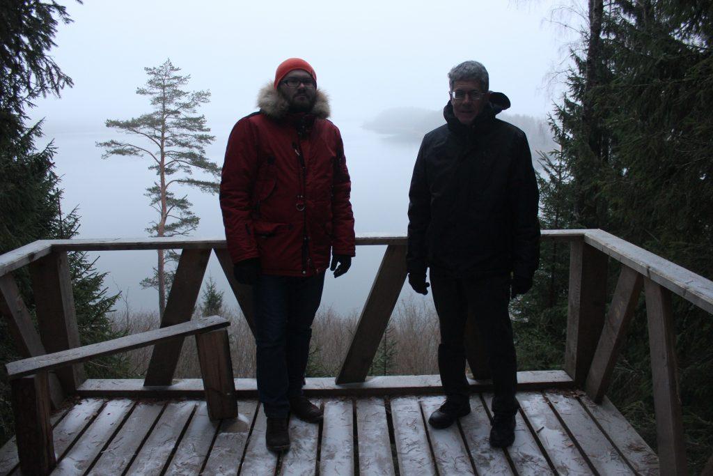Американский турист и я / Фото: smolensk-guide.com