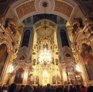 Иконостас Смоленского Успенского кафедрального собора - фото smolnarod.ru - ищу автора фото