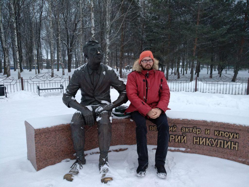 Фото с памятником Юрию Никулину на память / smolensk-guide.com