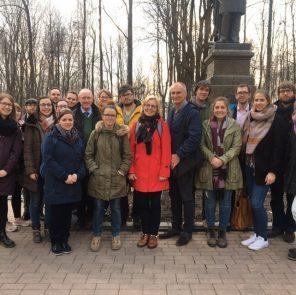 Группа молодых учителей из Хагена на экскурсии по Смоленску / Фото: Анастасия Козлова, экскурсии по Смоленску для иностранцев,