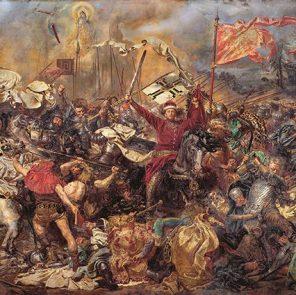 Ян Матейко. Фрагмент картины «Грюнвальдская битва», 1878 г. © / Public Domain