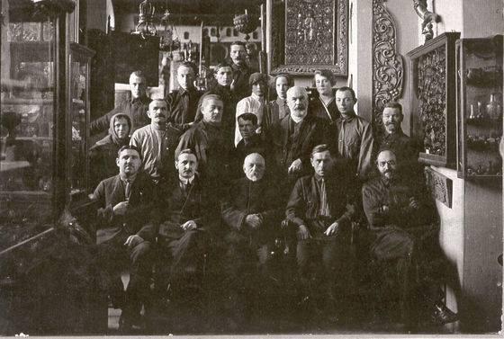 Коллектив смоленского музея в первой половине ХХ века