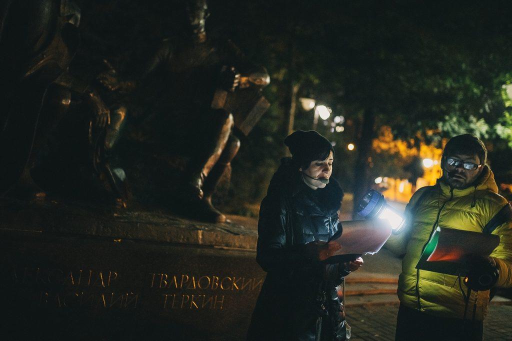 Ночная поэма о Смоленске / Фото Евгена Гаврилова