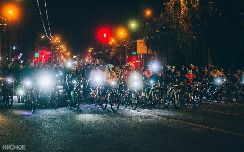 Ночной велопарад - Фото: Никита Ионов, что происходит в Смоленске,