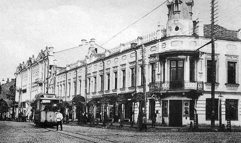 Смоленский трамвай в начале ХХ века / Фото: МУТТП
