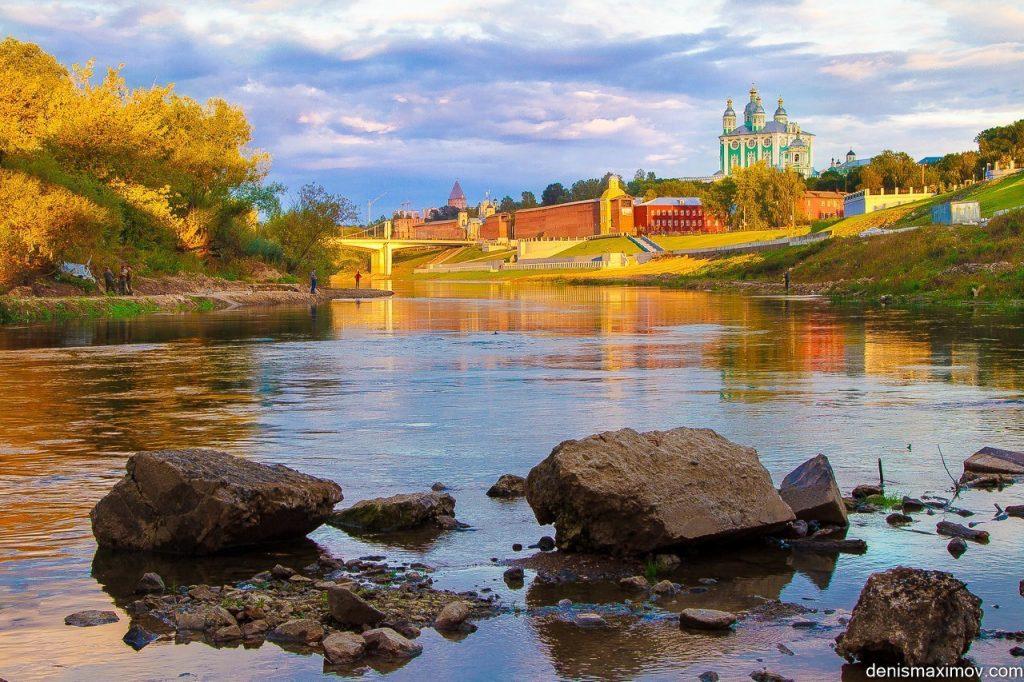 Днепр в Смоленске/ Фото Дениса Максимова