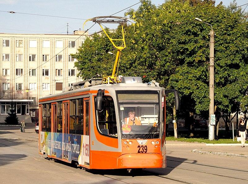 Смоленский трамвай / Фото: Википедия