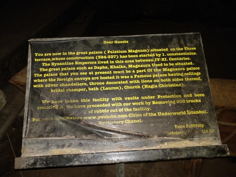 Стенд с пояснением / Фото: smolensk-guide.com